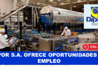 DIPOR S.A. OFRECE OPORTUNIDADES DE EMPLEO
