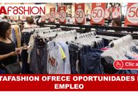 ETAFASHION OFRECE OPORTUNIDADES DE EMPLEO BACHILLERES